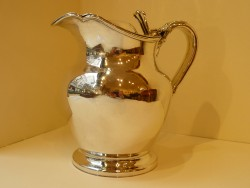 Old Sheffield Plate Jug with lid