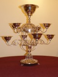 Old Sheffield Plate Epergne, Centrepiece
